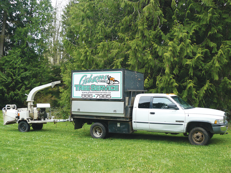 Gibsons Tree Service logo