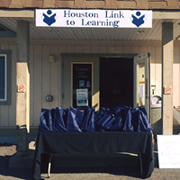 Houston Link To Learning logo