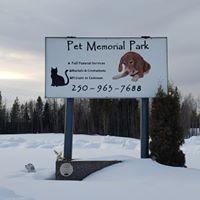 Prince George & Area Pet Memorial Park logo