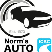 Norm's Auto Refinishing logo