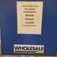 Wholesale Club Gas Bar logo