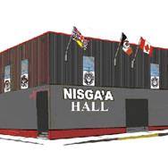 Nisga'a Hall logo