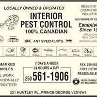 Interior Pest Control logo