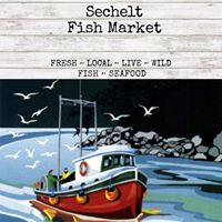 Sechelt Fish Market logo