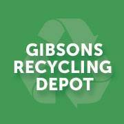 Gibsons Recycling Depot logo