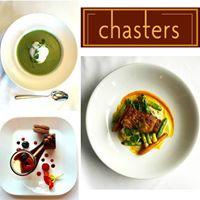 Chasters Restaurant logo