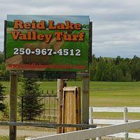 Reid Lake Valley Turf logo