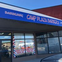 Camp Plaza Barbers logo