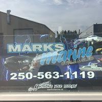 Mark's Marine Cycle & Sled logo