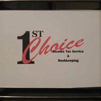 1st Choice Income Tax Service logo