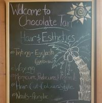 Chocolate Tan Hair & Esthetics logo