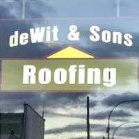 Dewit & Sons Roofing logo