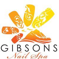 Gibsons Nail Spa logo