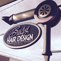 Bury Hair Design logo