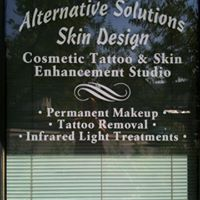 Alternative Solutions Skin Design logo