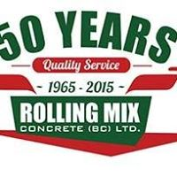 Rolling Mix Concrete (BC) Ltd logo
