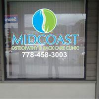 Midcoast Osteopathy & Back Care Clinic logo
