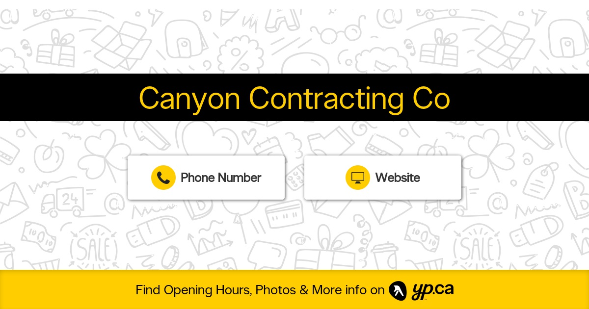 Canyon Contracting Company logo