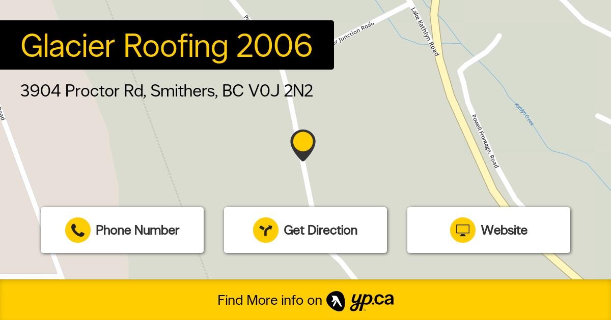 Glacier Roofing 2006 logo