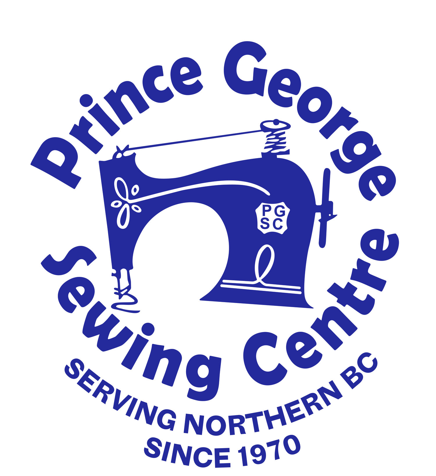Prince George Sewing Centre logo