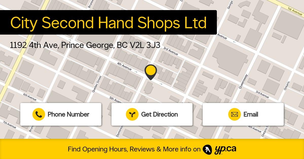 City Second Hand Shops Ltd logo