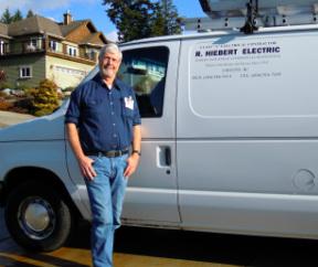 Hiebert R Electric logo