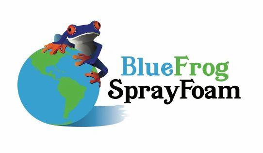 Blue Frog Spray Foam - Opp Insulation logo