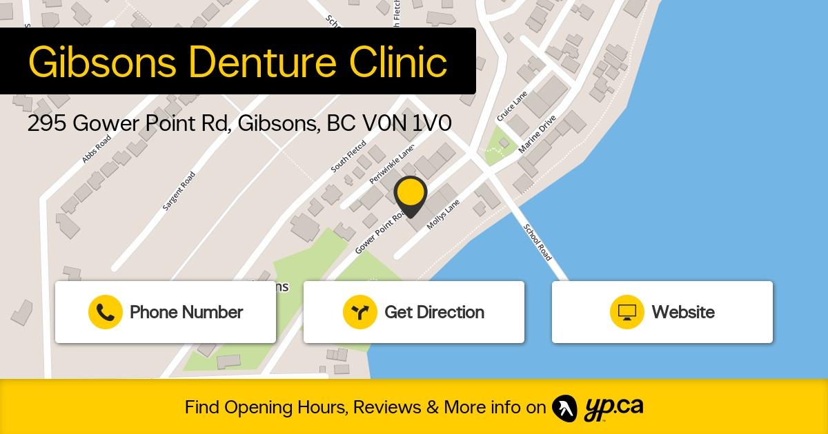 Gibsons Denture Clinic logo