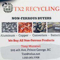 TX2 Recycling logo