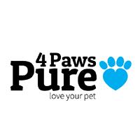 4 Paws Pure logo