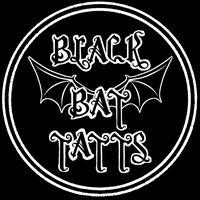Black Bat Tatts logo