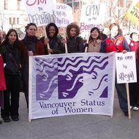 Vancouver Status Of Women logo