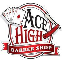 Ace High Barber Shop logo