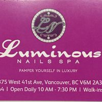 Luminous Nail Spa logo
