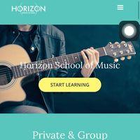 Horizon School of Music logo