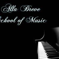 Alla Breve School of Music logo