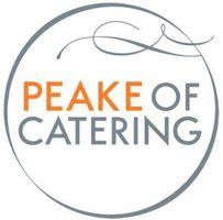 Peake of Catering logo