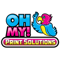 Oh my Print Solutions logo