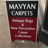 Mavyan Carpets logo