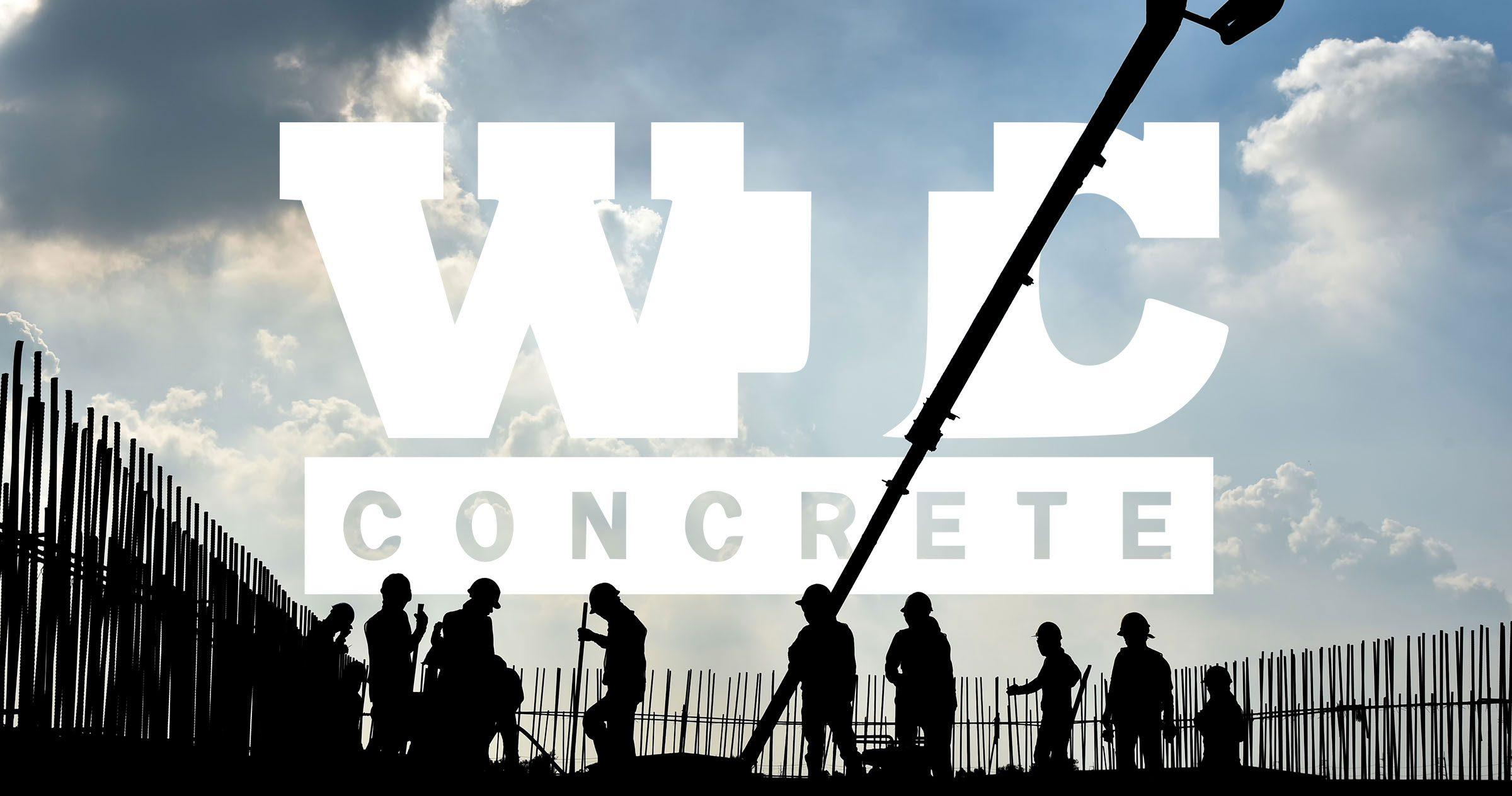 WJC Concrete Finishing logo