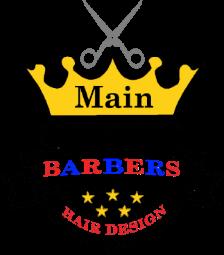 Main Barbers Hair Design logo