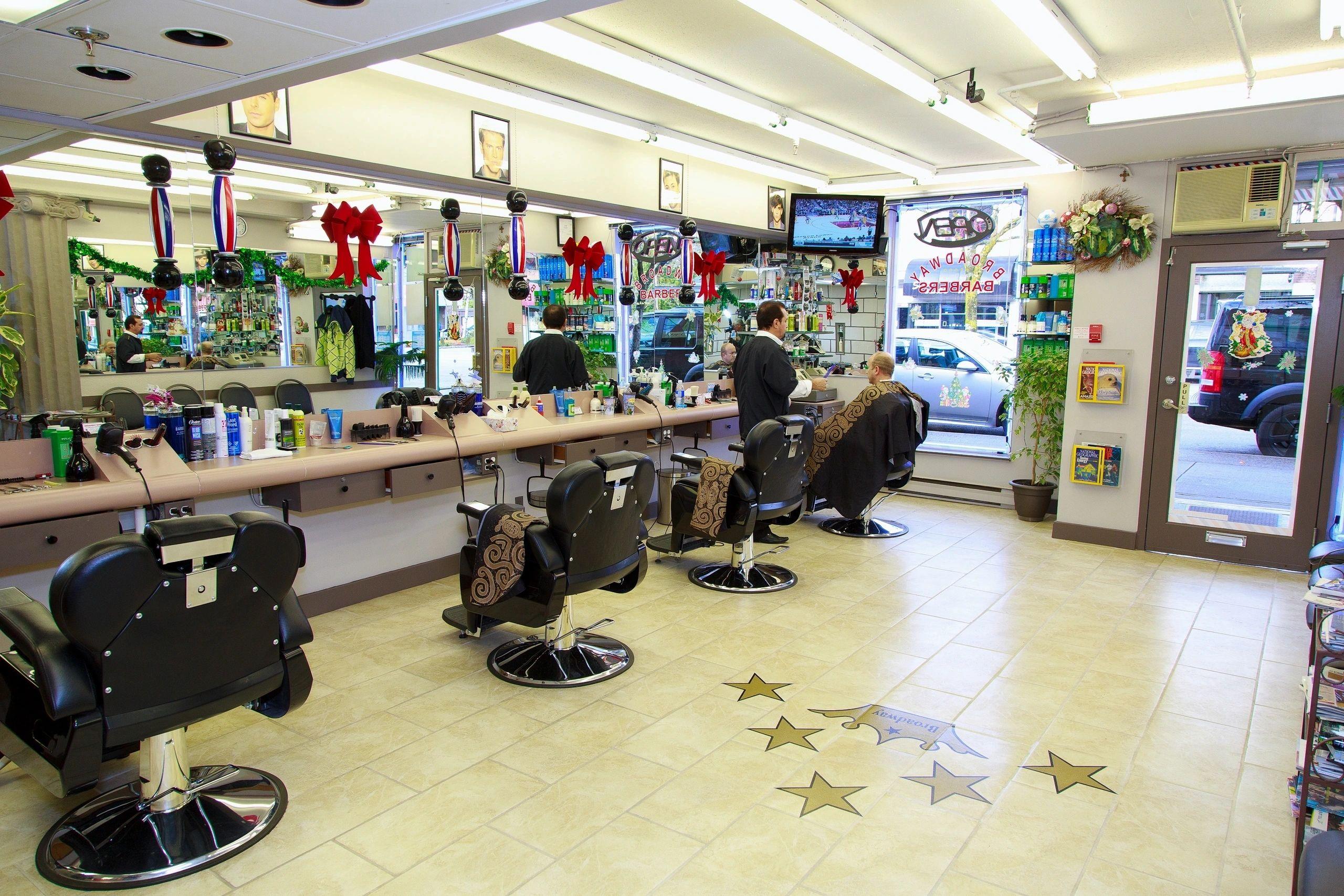 Broadway Barbers Hair Design logo