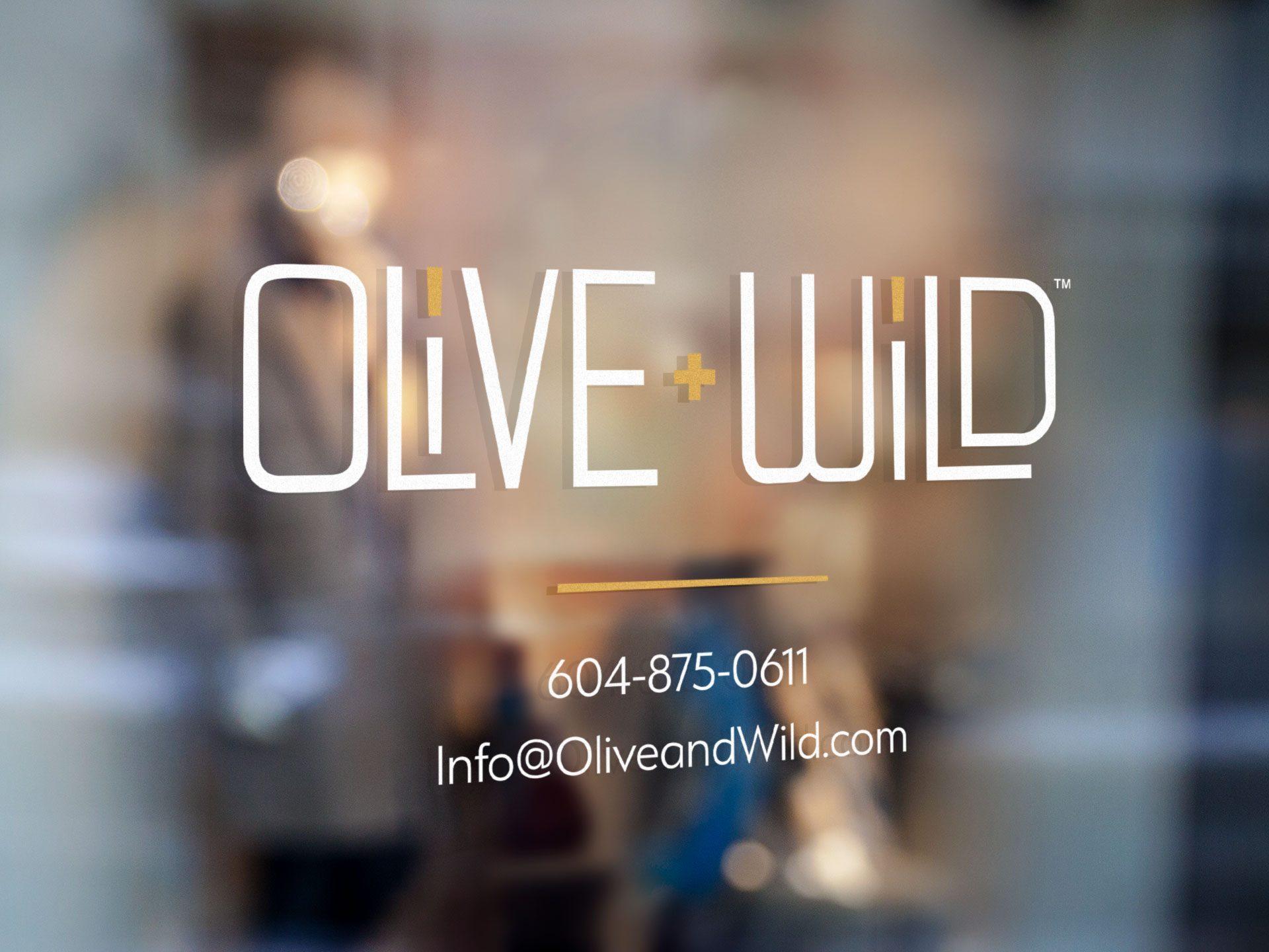 Olive Wild logo