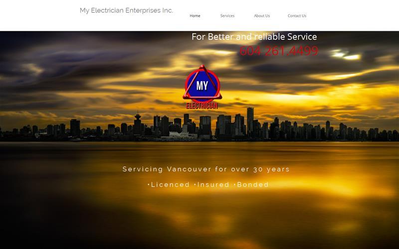 My Electrician Enterprise Inc logo