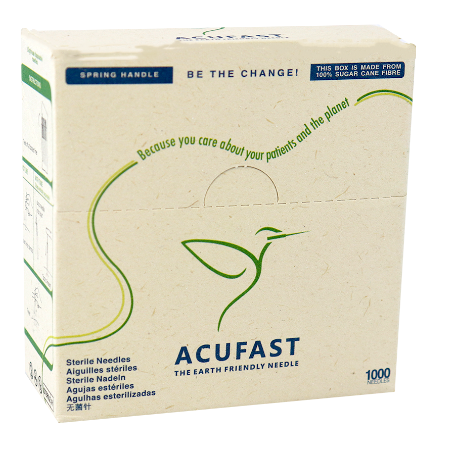 Acufast Earth Friendly Acupuncture Needles logo