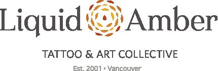 Liquid Amber Tattoo & Art Collective logo