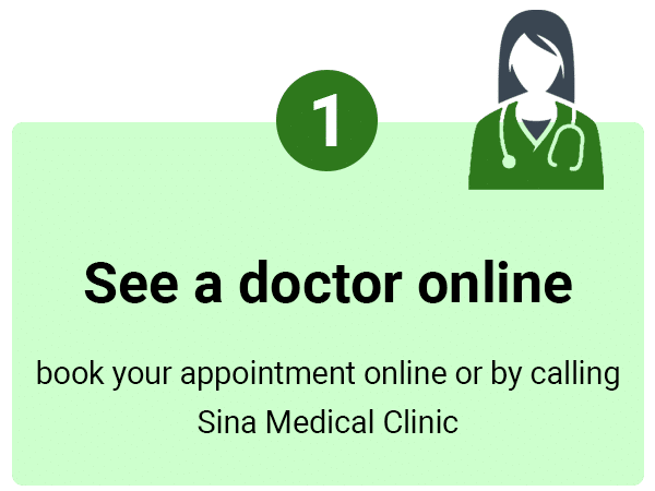 Sina Medical Clinic logo