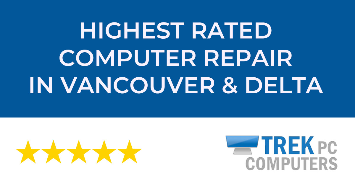 Trek PC Vancouver - Computer Repair - iMac MacBook Windows Repair logo