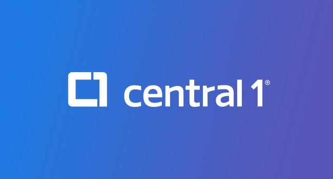 Central 1 Credit Union logo
