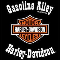 Gasoline Alley Harley-Davidson of Kelowna logo